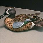 Blue-winged Teal Drake - Decorative Floating Lifesize