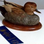 Gadwall DrakeWood Duck Hen - Decorative Floating Lifesize